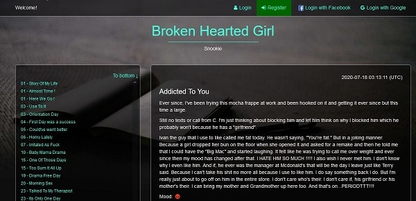 Broken Hearted Girl screenshot