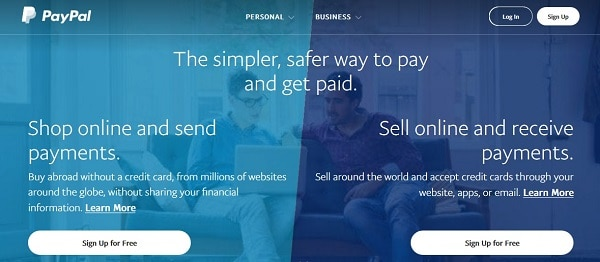 Online payment processing solutions for Woocommerce store: PayPal