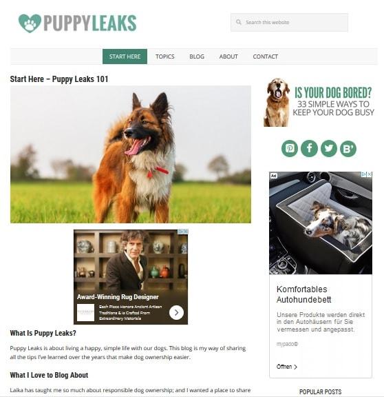 Niche blog puppyleaks
