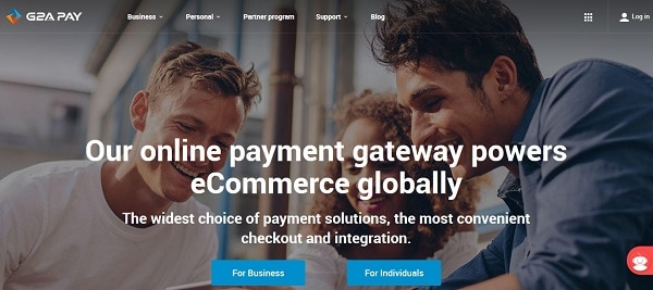 Online payment processing solutions for Woocommerce site: G2A Pay