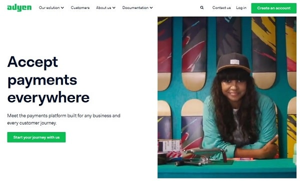 Online payment processing solutions for WooCommerce store: Adyen