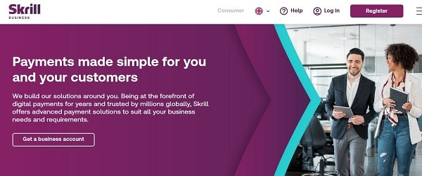 Online payment processing solutions for WooCommerce store: Skrill