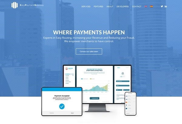 payment processor Europe: Easypaymentgateway (EPG)