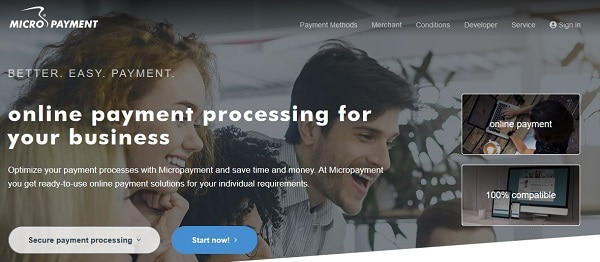Credit card processing Europe: MicroPayment