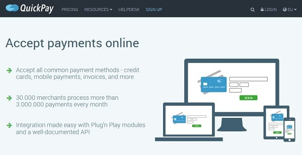 Best Payment Service Providers in Europe: QuickPay