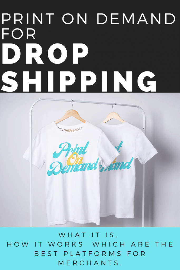 Print On Demand Drop Shipping - www.mynetfreedom.com