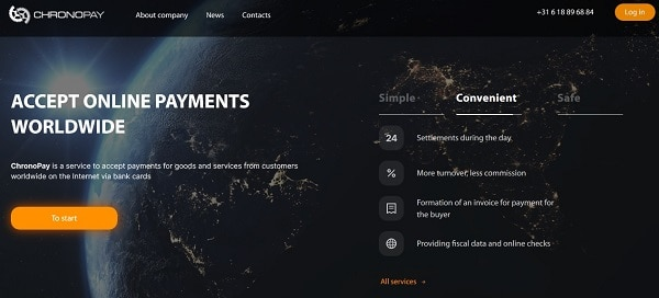 Chronopay | high risk payment processors