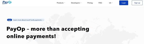 Payop | high risk payment processors