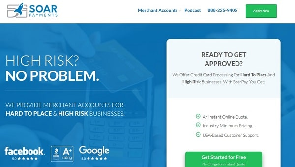 SoarPay | Best High Risk Payment Processors For Startups in 2020
