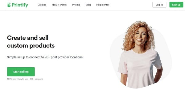 Print on Demand fulfillment service providers: Printify