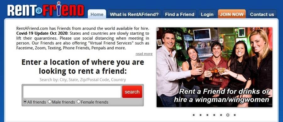 companionship for money | Rentafriend