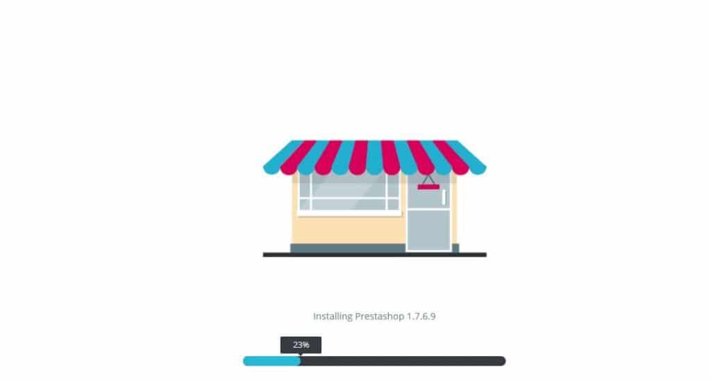 PrestaShop manual installation