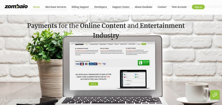 Payment Processor for adult oriented online business